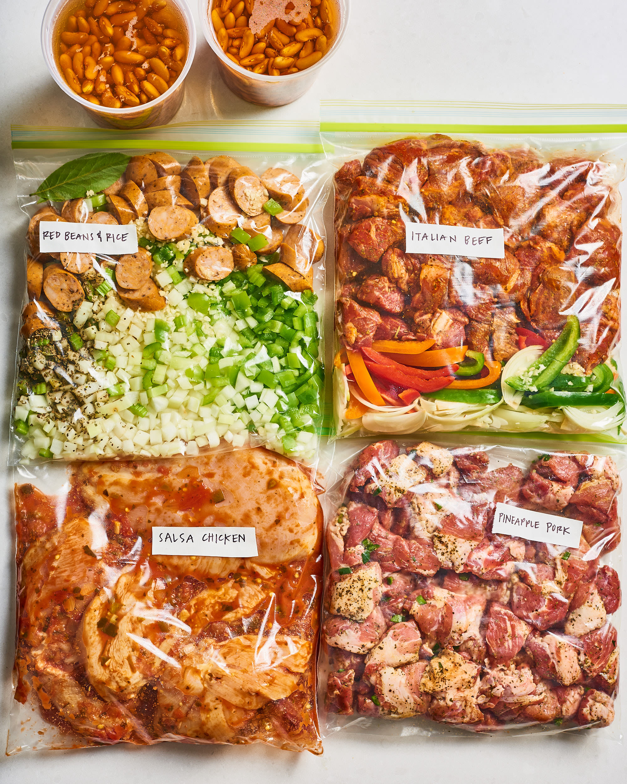 Meal Prep Plan: How I Prep a Week of Instant Pot Dinners