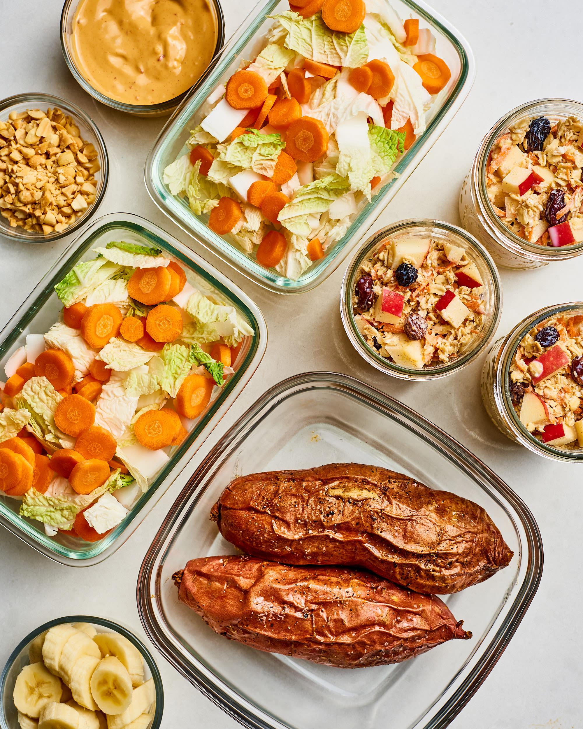 Meal Prep Plan: How I Prep a Week of Vegan Meals