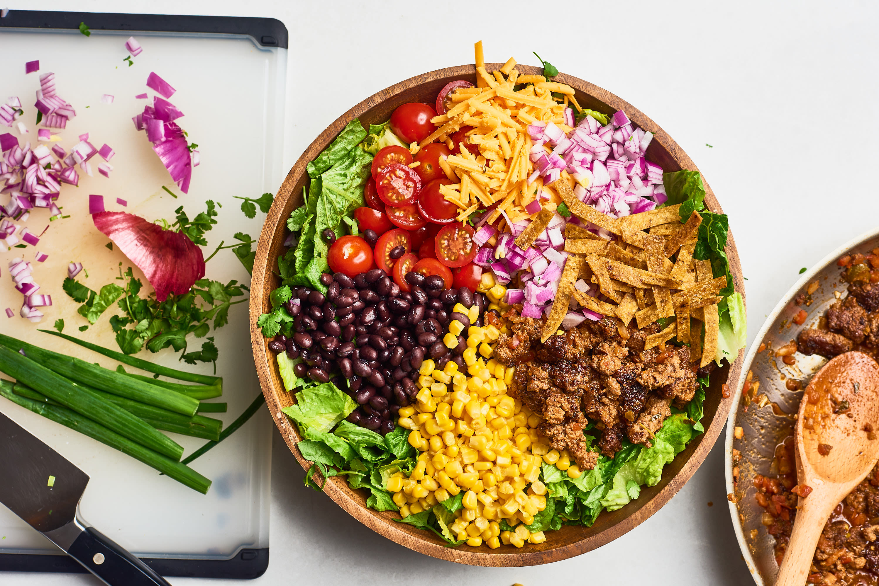 How To Make the Best Restaurant-Quality Taco Salad at Home: gallery image 6