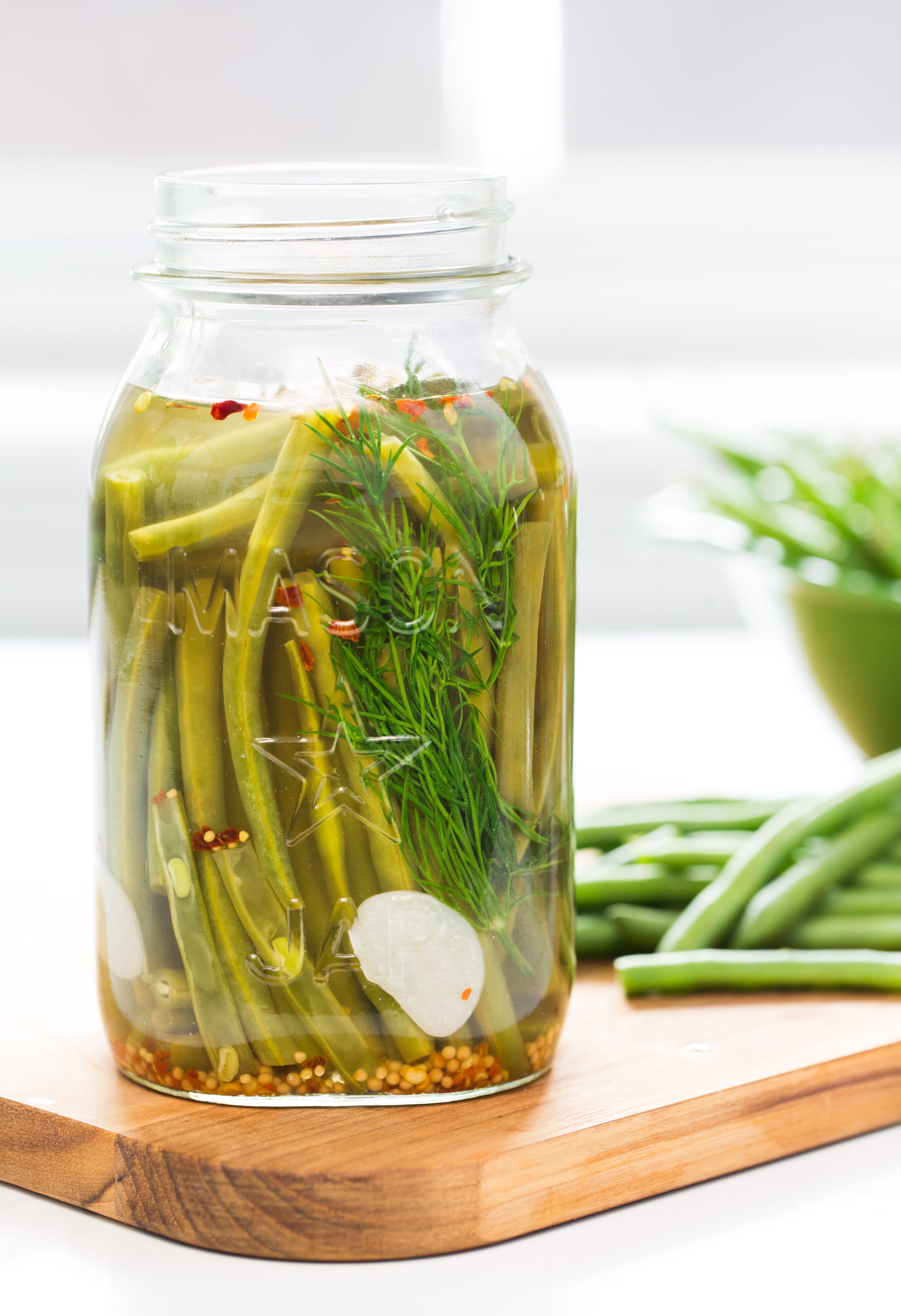 How to Make Green Bean Pickles (Cold Pack) How to Make Green Bean Pickles (Cold Pack) new photo