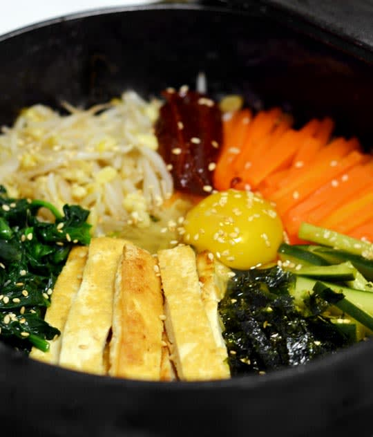 Vegetarian Recipe Korean Dolsot Bibimbap Kitchn