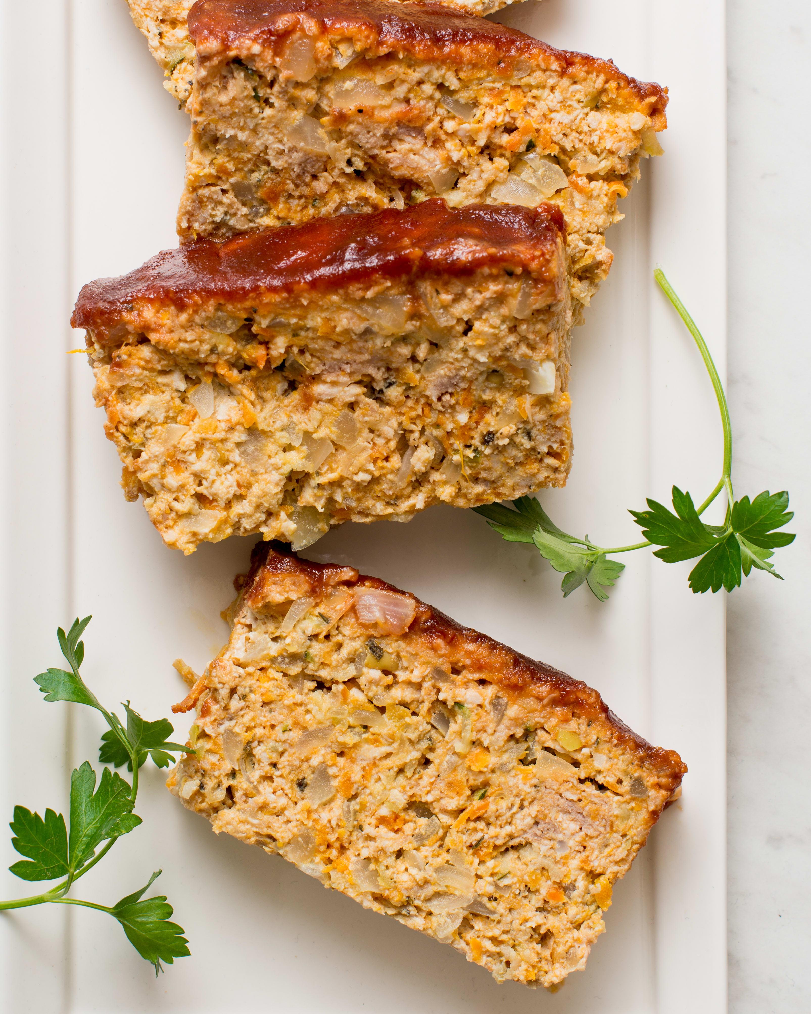 Easy Juicy Turkey Veggie Meatloaf Kitchn