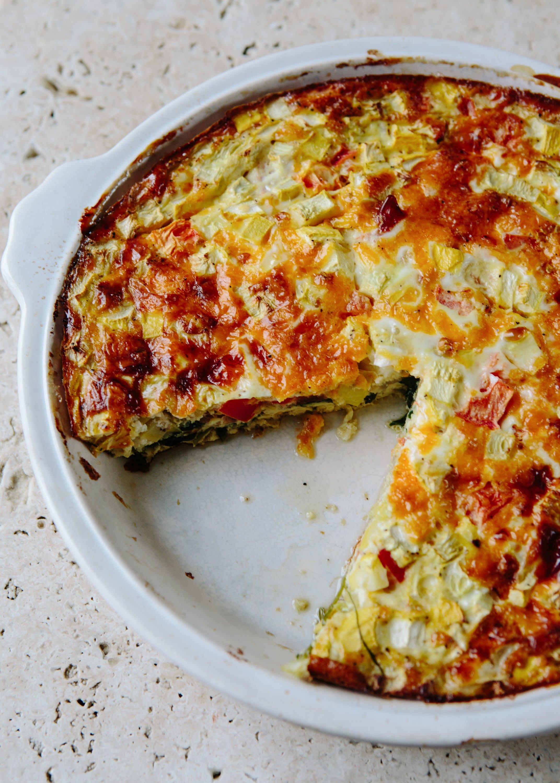 Vegetable Quiche Recipe: Crustless Gluten-Free