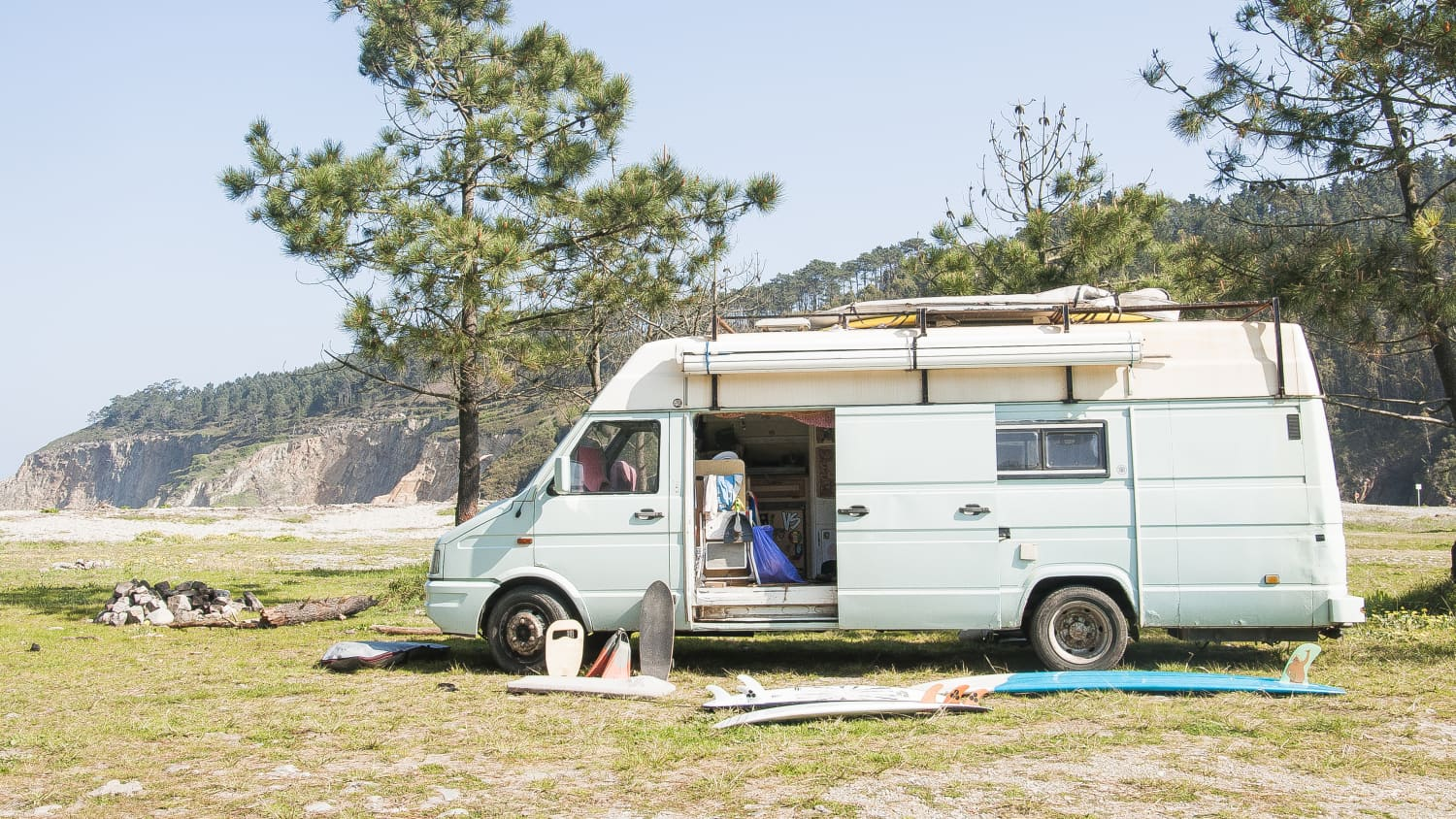 Camper Vans on Instagram - Photos, Inspiration | Apartment Therapy