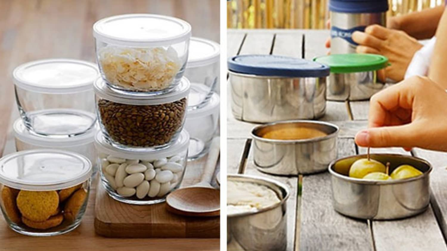 Plastic-Free Containers: Steel vs. Glass | Kitchn