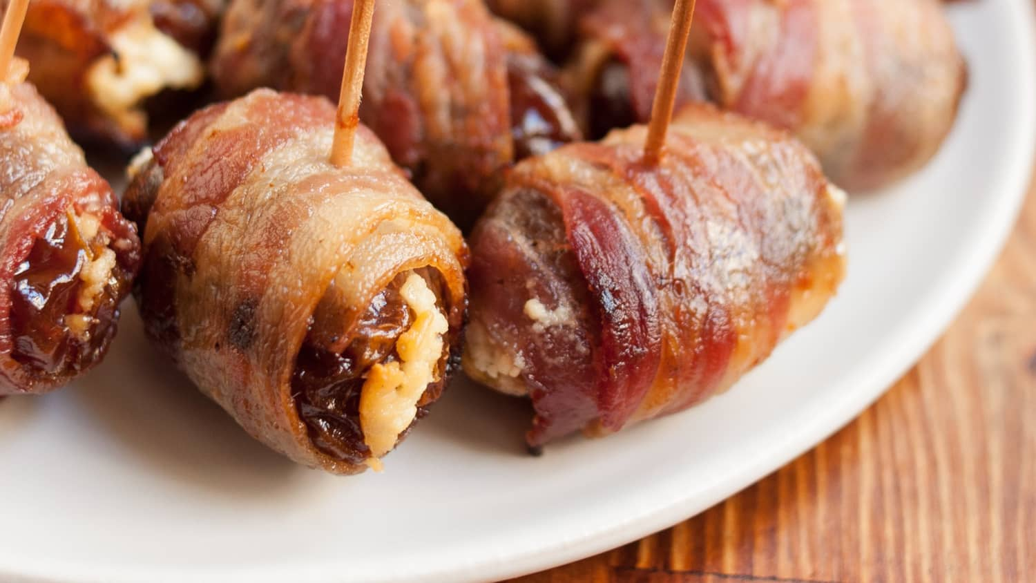How To Make Bacon-Wrapped Dates
