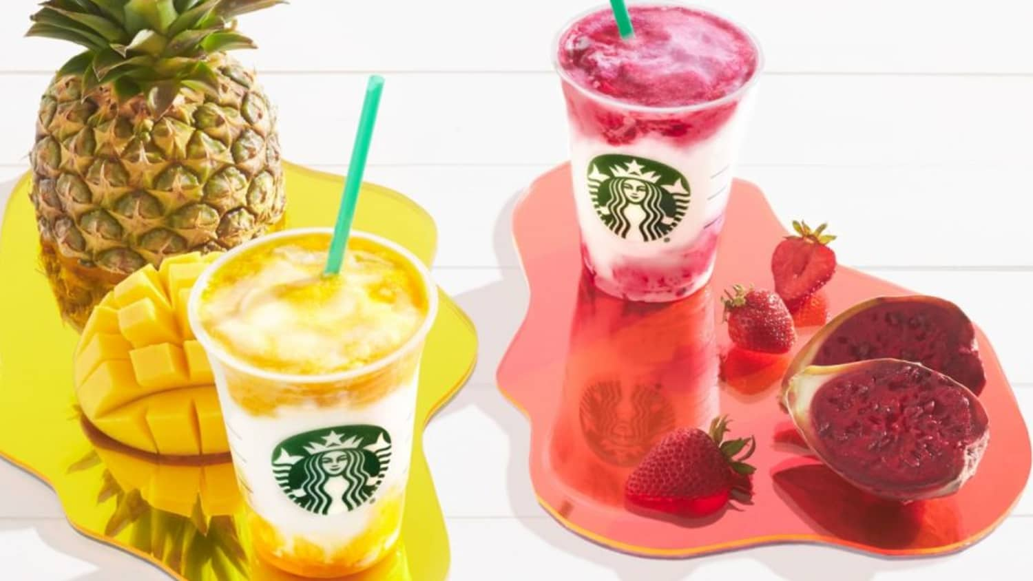 Starbucks Just Released Two New Tropical Frappucinos   Kitchn