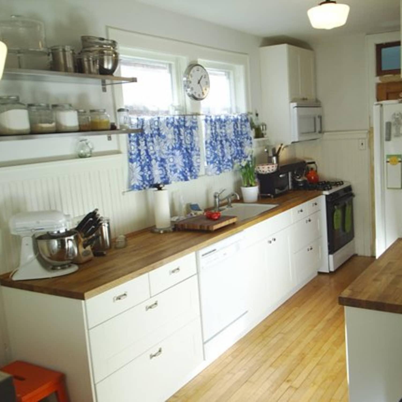 Cheap Studio Apartments Reno: Small Bungalow Kitchen Remodel