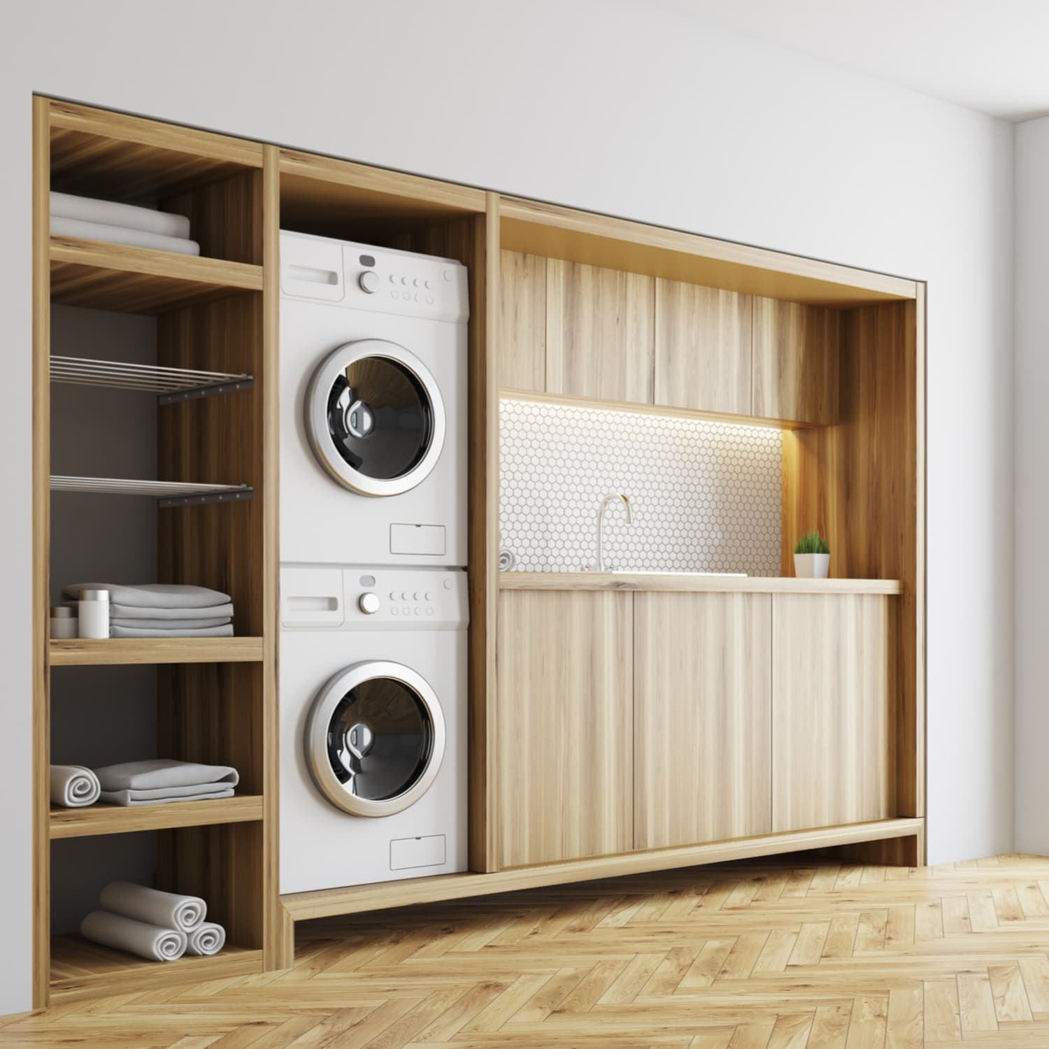 Tricks To Stacking Any Washer Dryer To Save Space