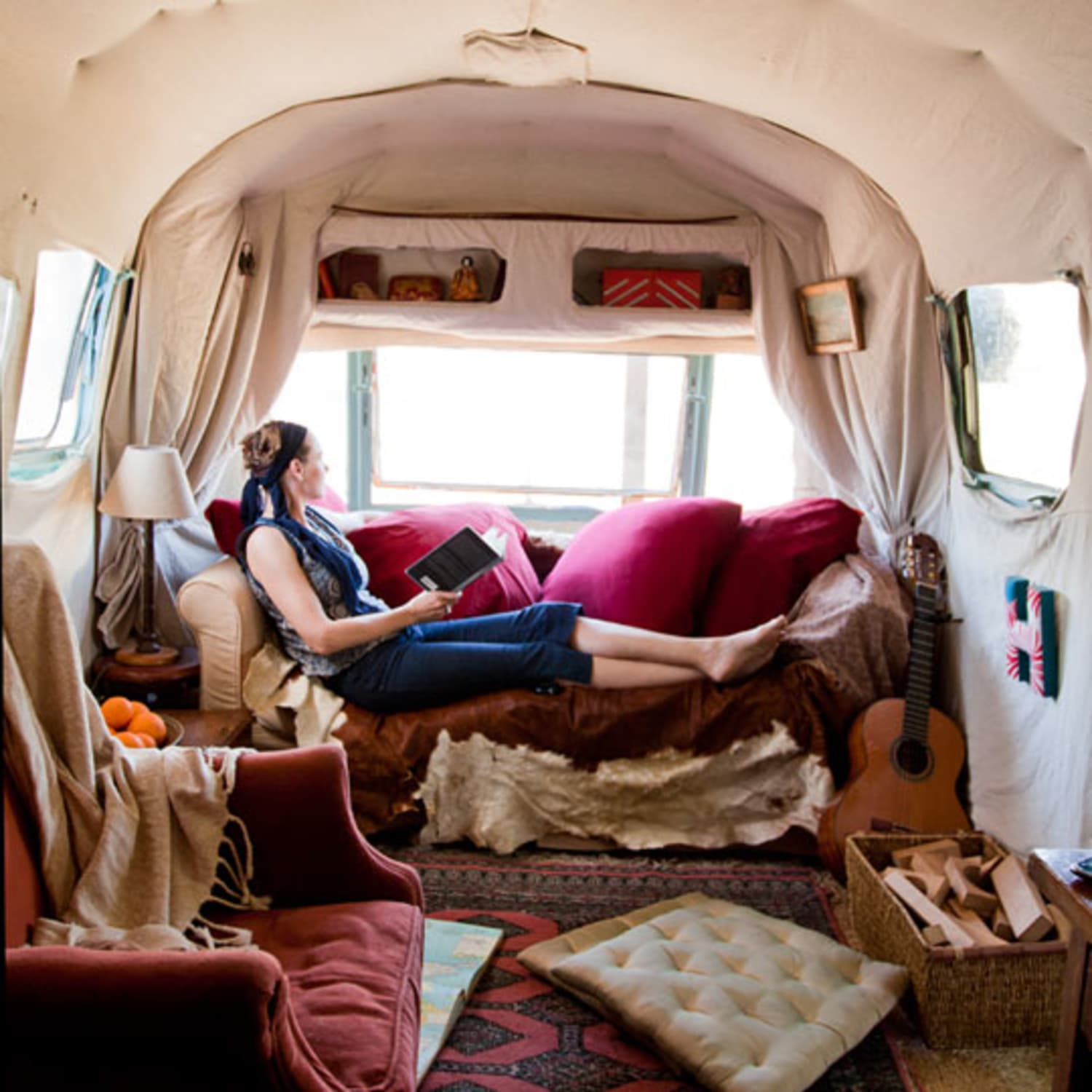 House Tour: An Unbelievable Airstream Trailer Home