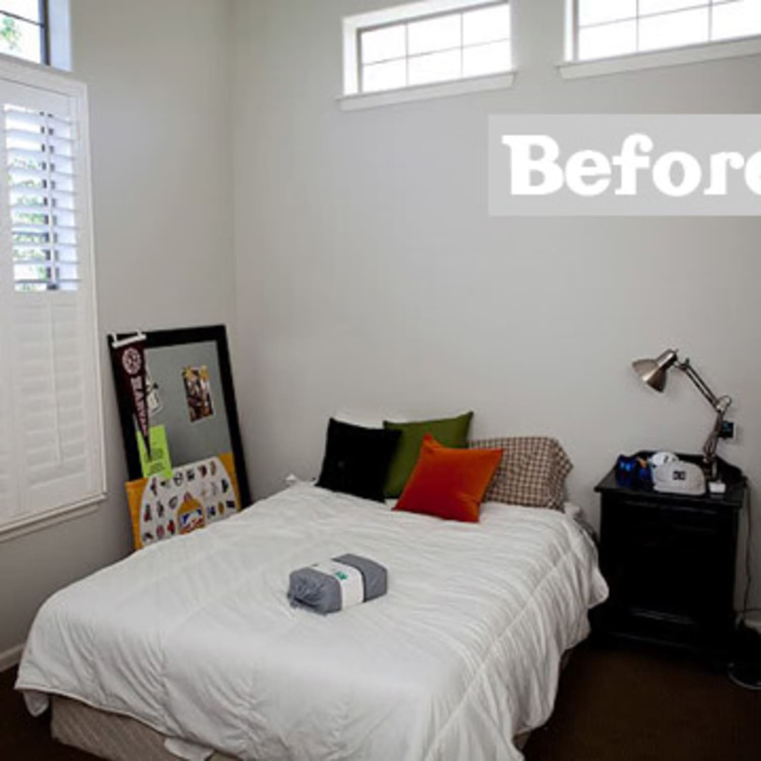 Before & After: A Basic Space Becomes A Cool Teenage Boy ...