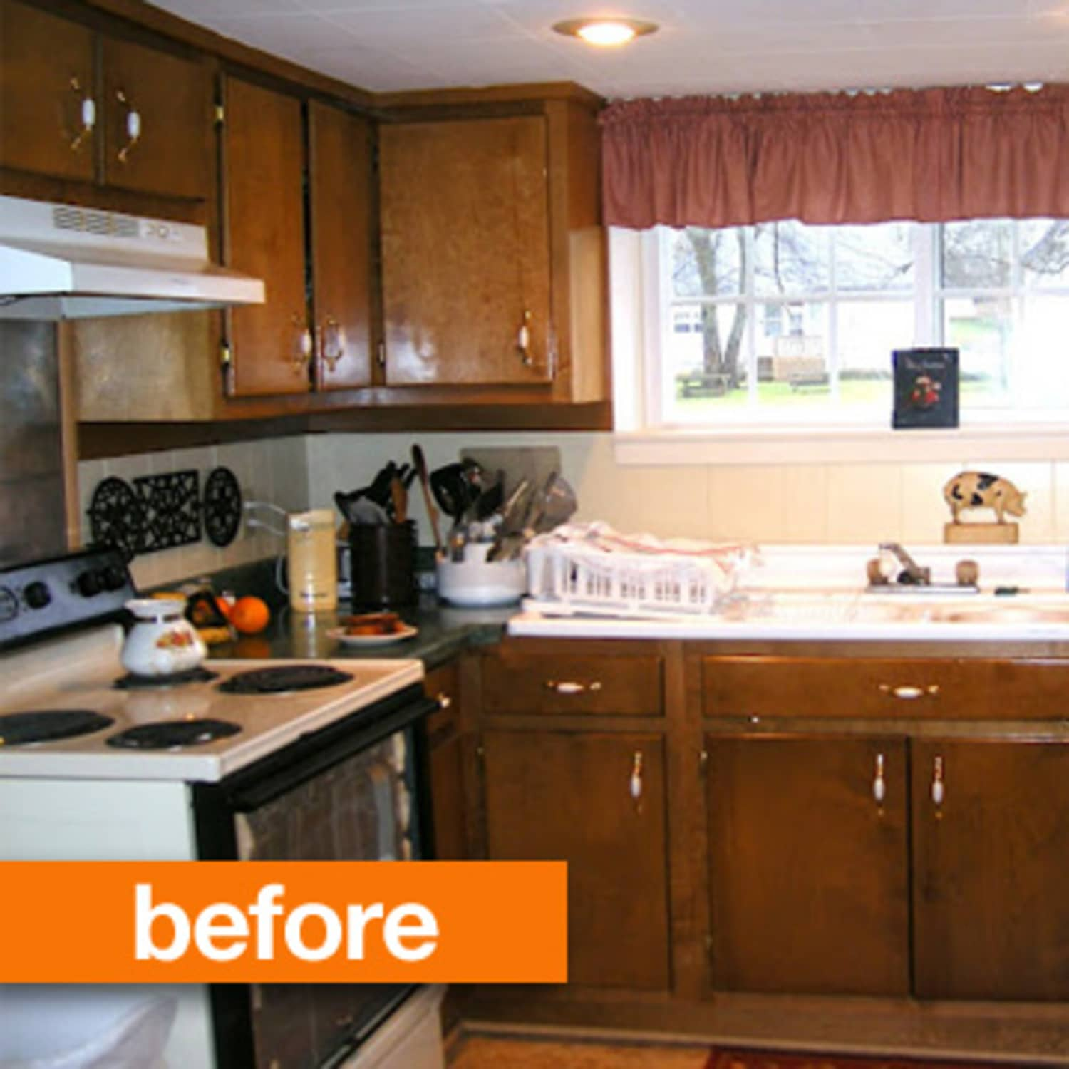 Before & After: A White Washed Kitchen | Apartment Therapy