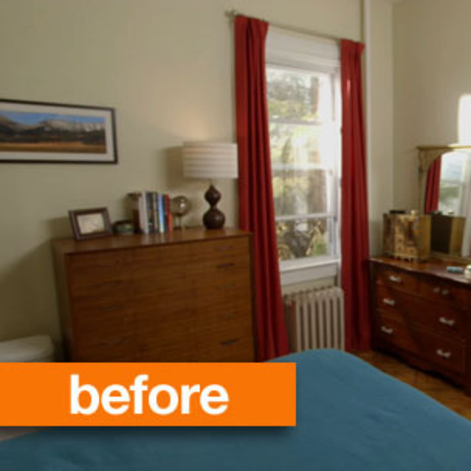 Glidden Smoky Charcoal cassandra's cool retreat: before & after   apartment therapy