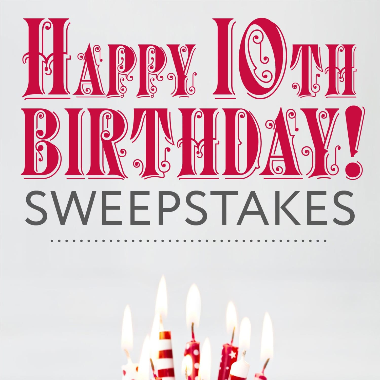 Last Day to Enter the Birthday Bash Sweepstakes | Apartment