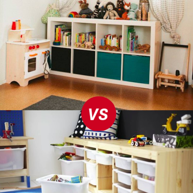 Kids Room Throwdown: Trofast vs Kallax/Expedit | Apartment Therapy