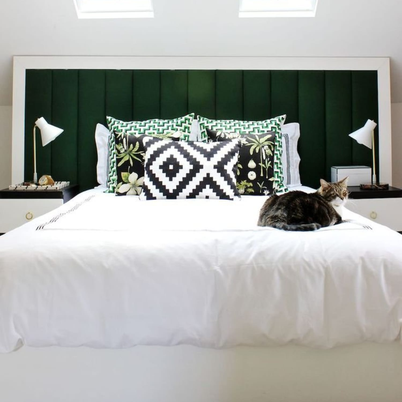 20 Easy Diy Homemade Headboard Ideas How To Make A Bed