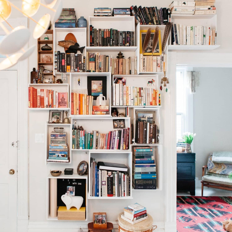Dresser Drawer Bookshelf Diy Apartment Therapy