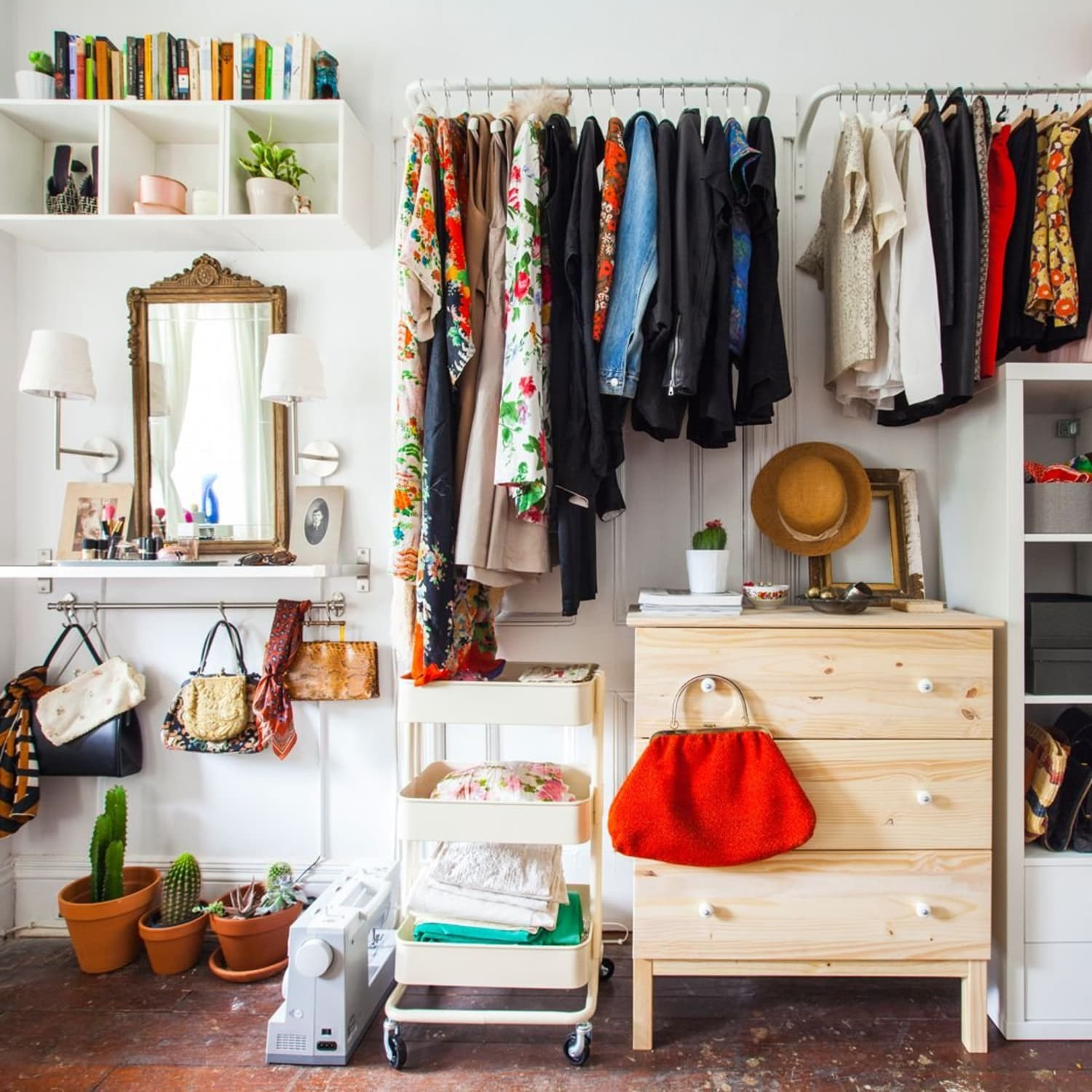 How to Make Room for Clothes Without Closet | Apartment Therapy