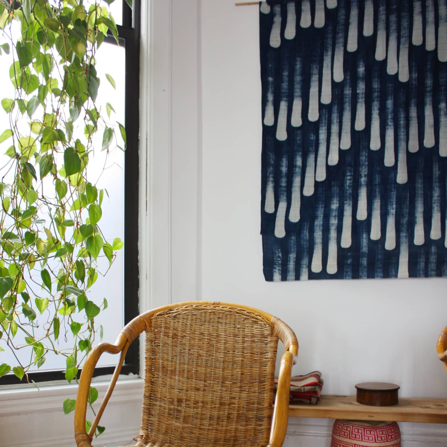 DIY Ideas: Using Fabric for Wall Art | Apartment Therapy