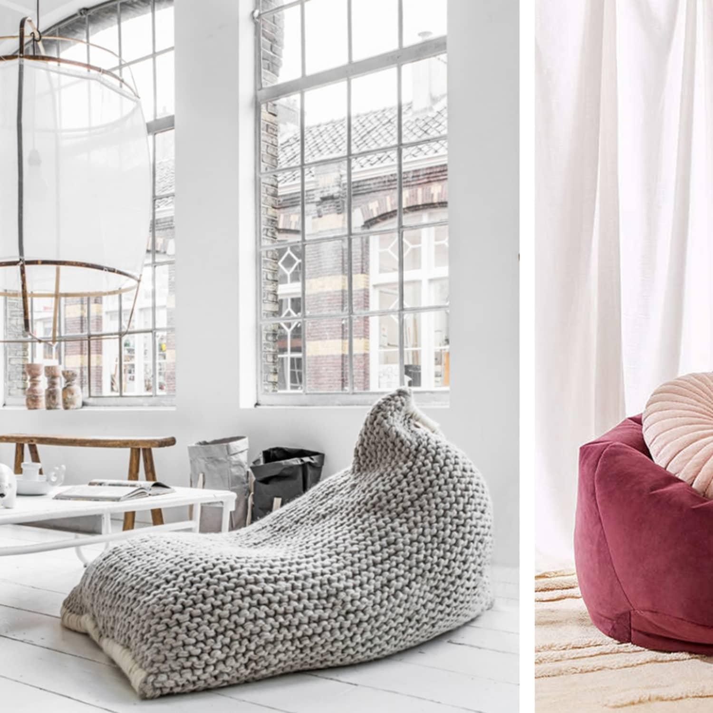 Bean Bag Living Room Decor With Bags Modern Giant For – aline.pro