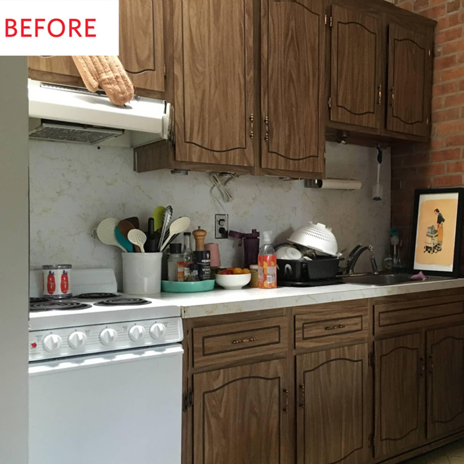 300 Later This Rental Kitchen Is No Longer Recognizable