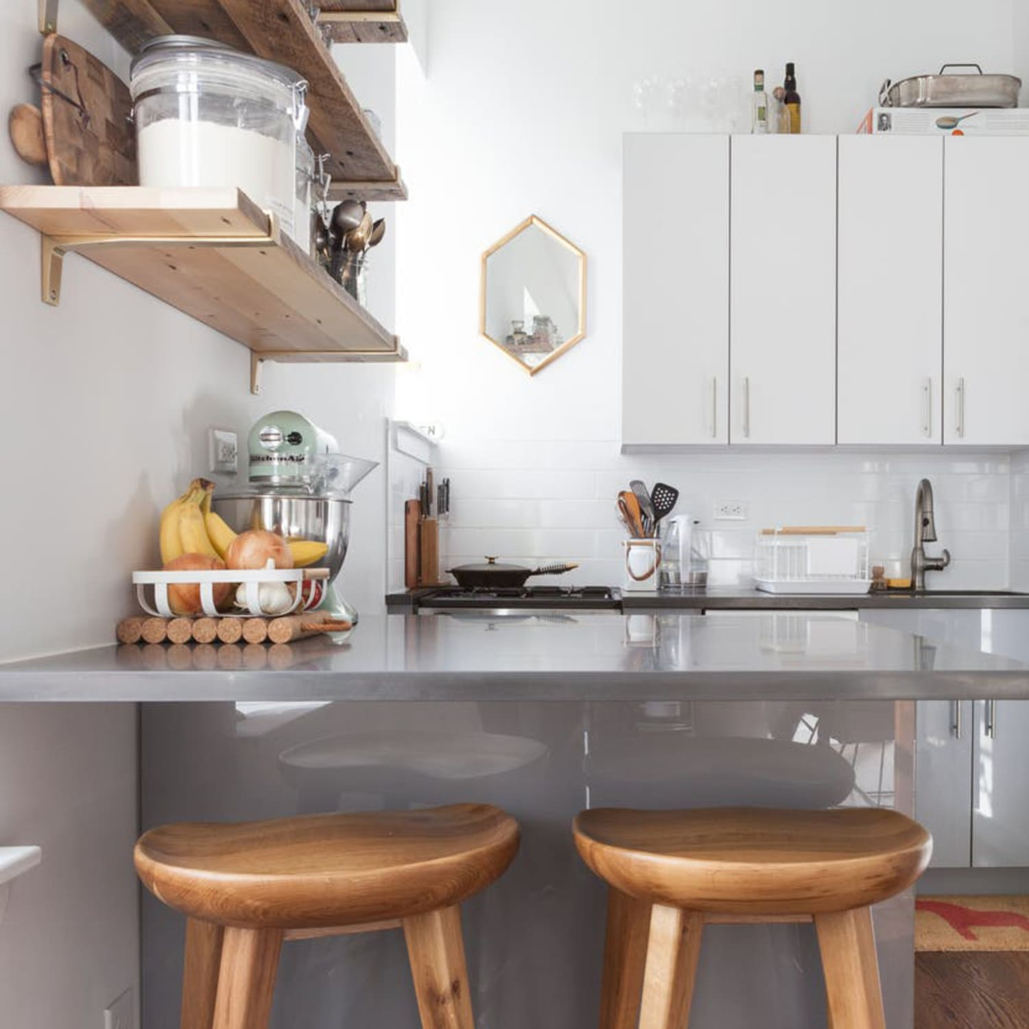 Easy, Stylish & Practical Improvements for Rental Kitchens ... on