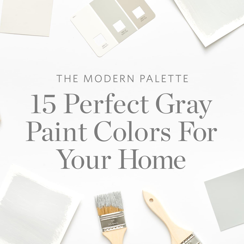 Color Cheat Sheet: The Best Gray Paint Colors | Apartment