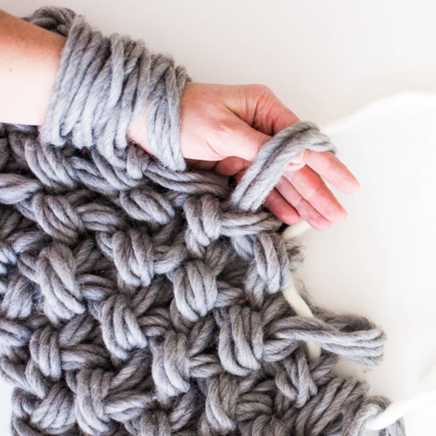 Arm knitting yarn type