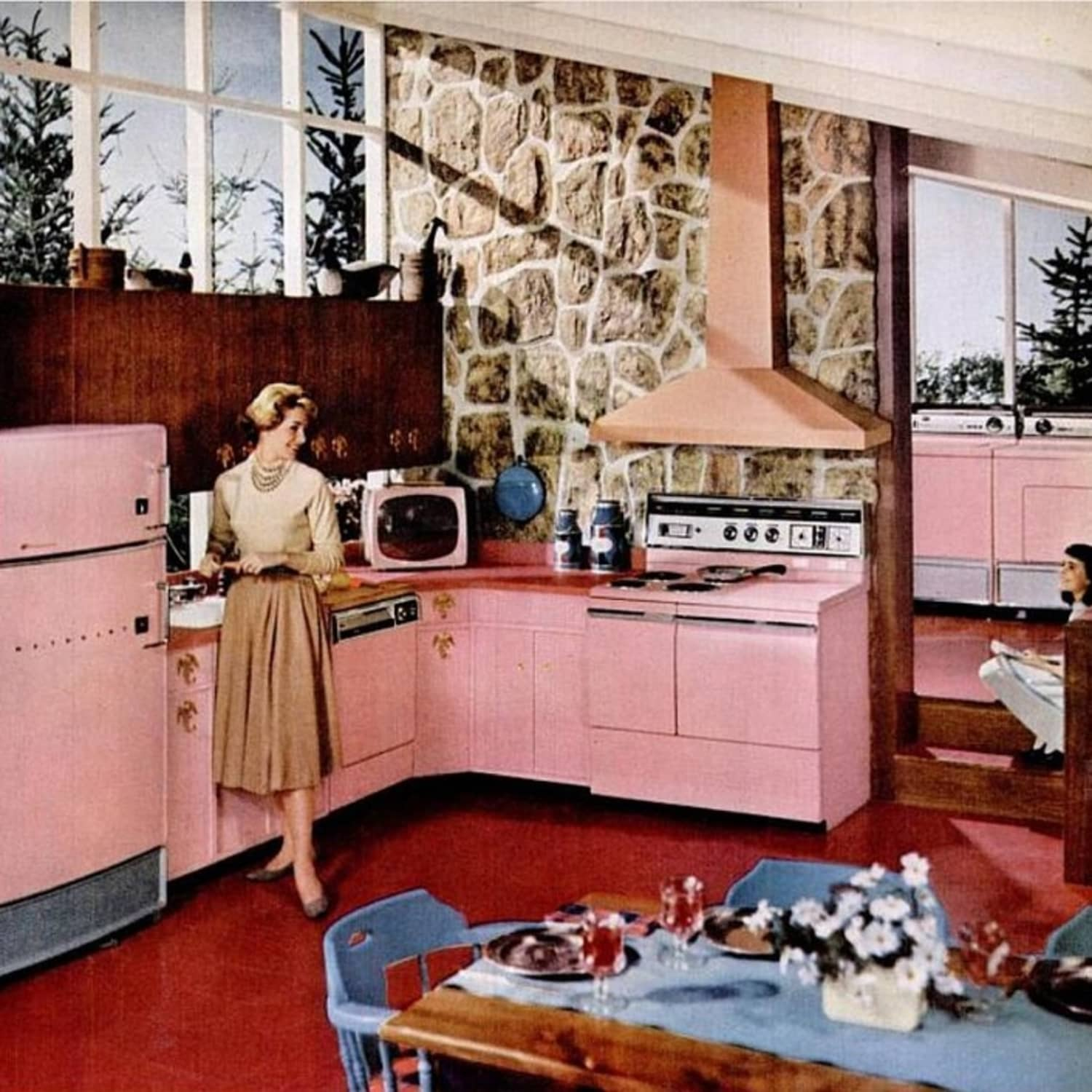 Brief History of the Kitchen from the 1950s to 1960s ...