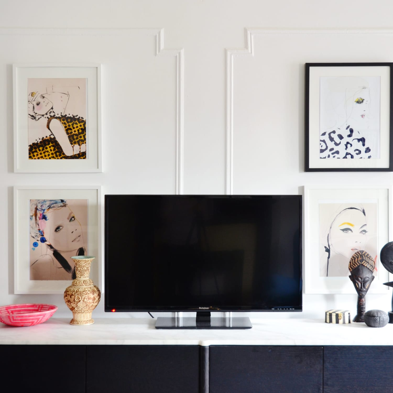 5 Ways To Decorate Around Your Tv Using Art Apartment Therapy