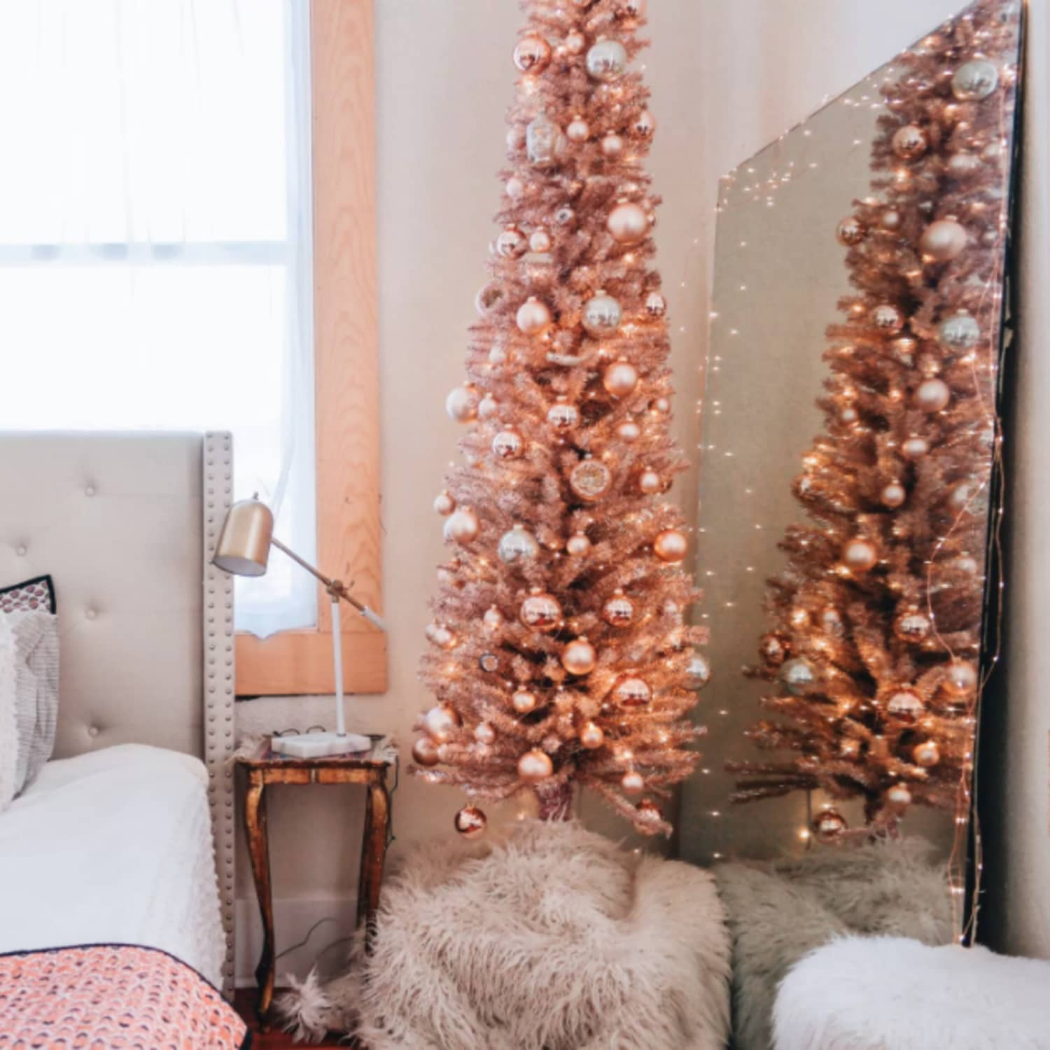 buy online d0148 c8e92 Rose Gold Christmas Tree Trend Where to Buy | Apartment Therapy