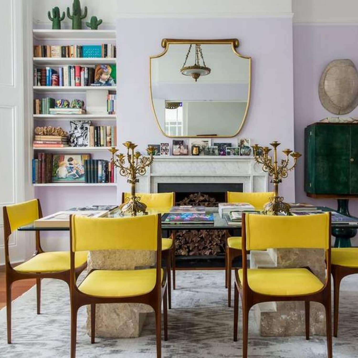 2018 Room Color Trends Lavender Mustard Yellow Apartment Therapy