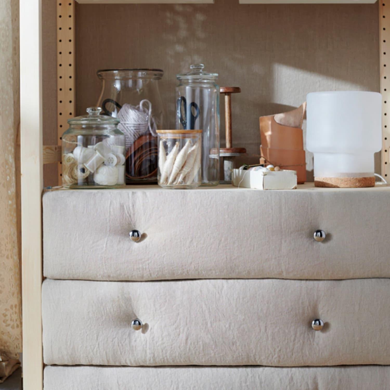 Ikea Hacks Diy Platform Bed Curtains Storage Apartment