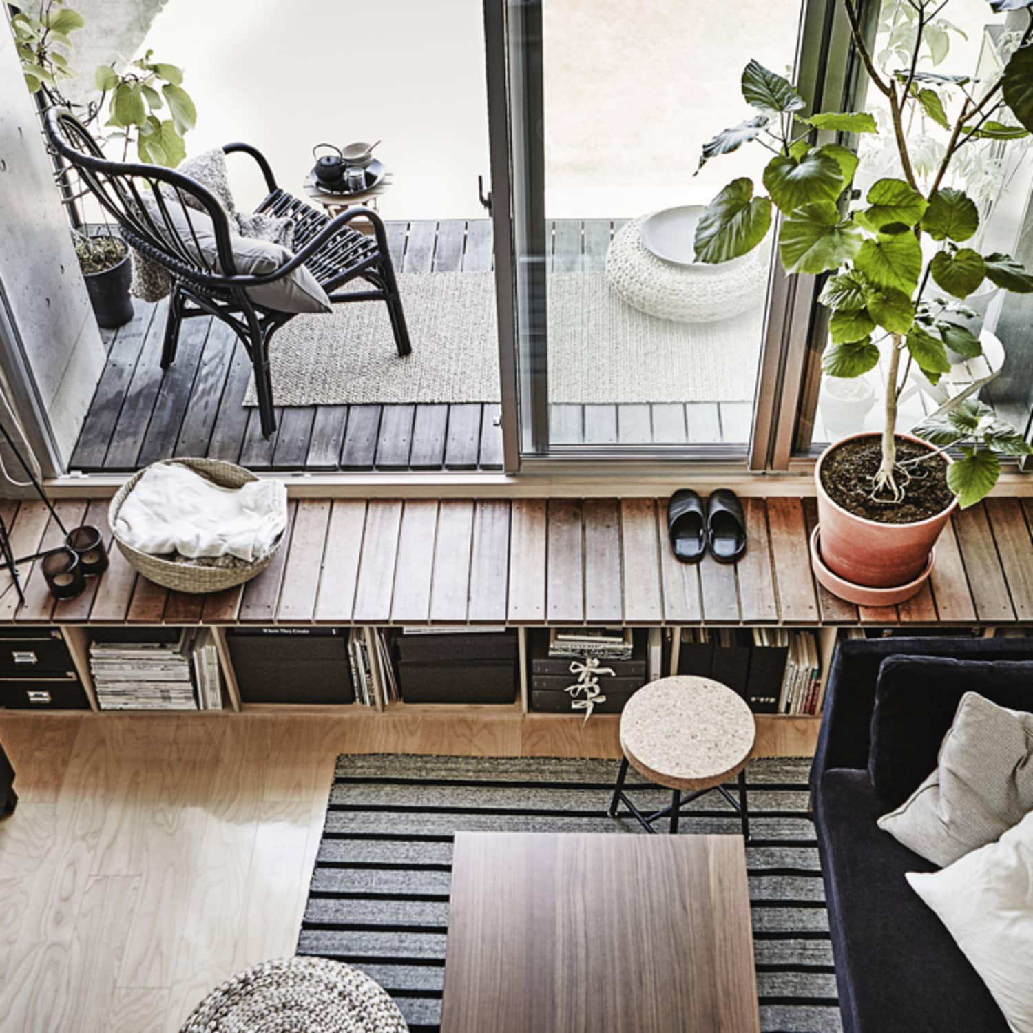 IKEA Apartment Small Space Ideas Under 300 Sq Ft | Apartment ...