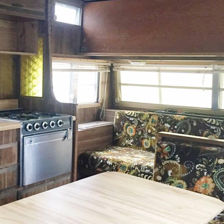 Small Travel Trailer Remodel Vintage Shasta Apartment