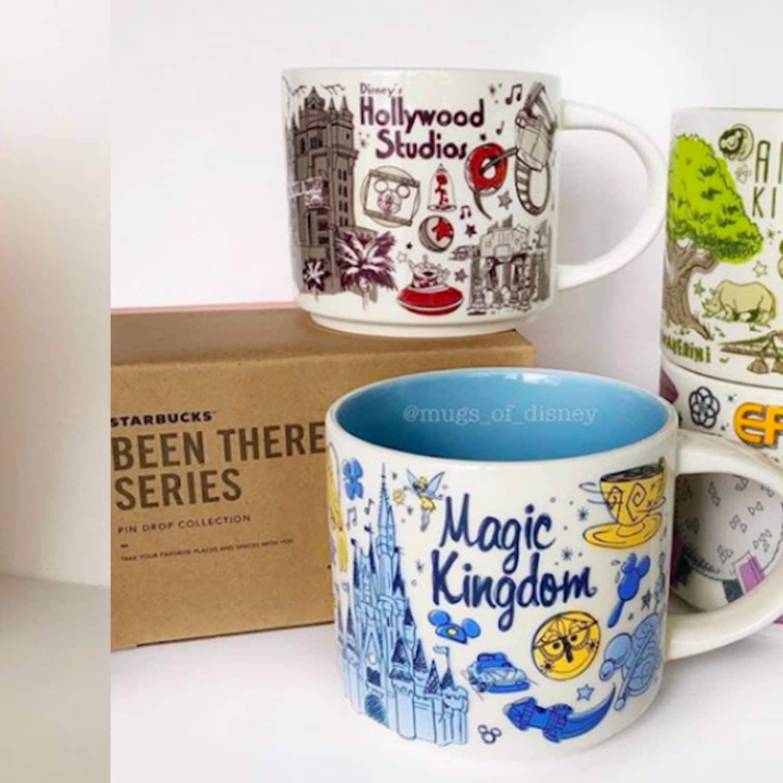 Starbucks Debuts New Retro Been There Disney Mugs