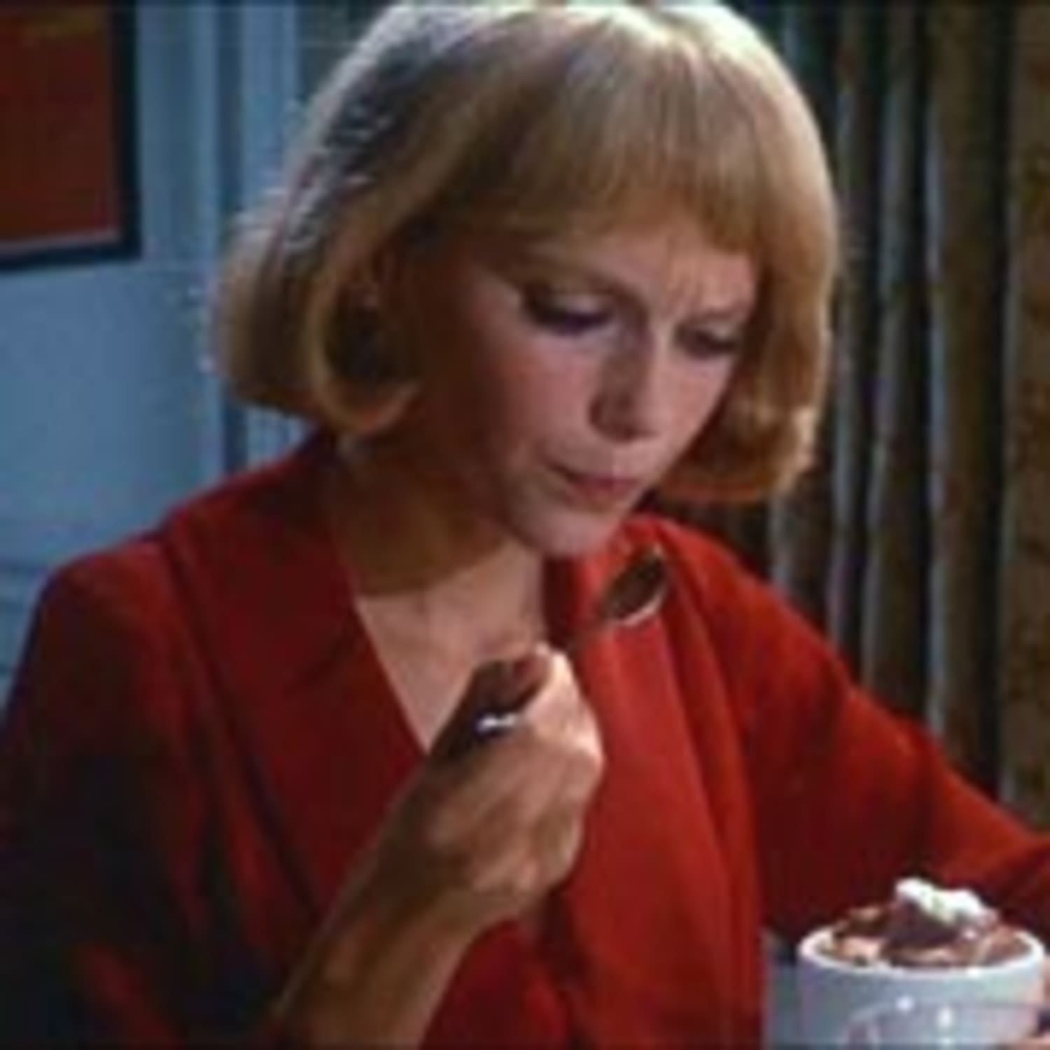 Image result for rosemary's baby chocolate mousse images
