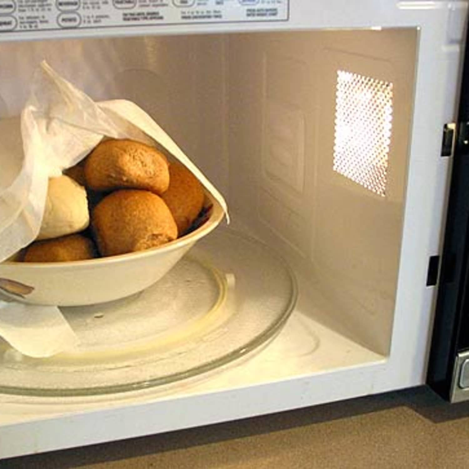 How To Warm Bread In the Microwave | Kitchn