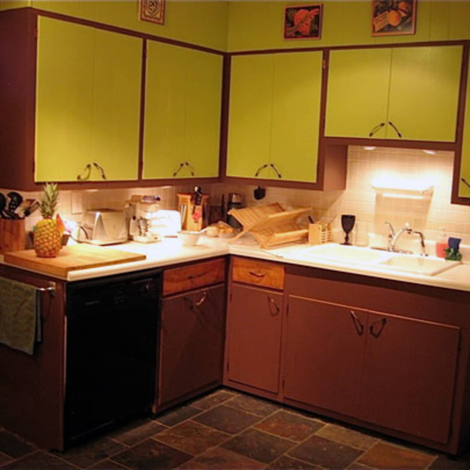 How To Refinish Flaky Cabinets From The 60s Jessi S February