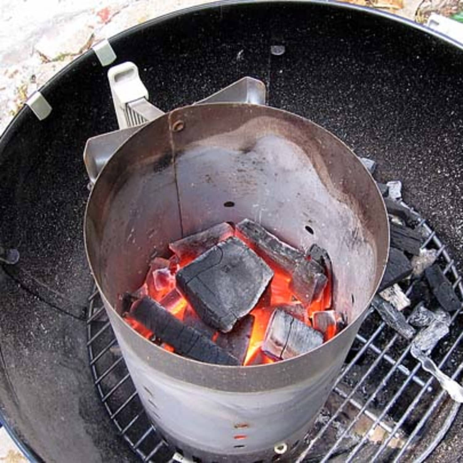 Quick Grilling Tip: Use A Charcoal Chimney! | Kitchn