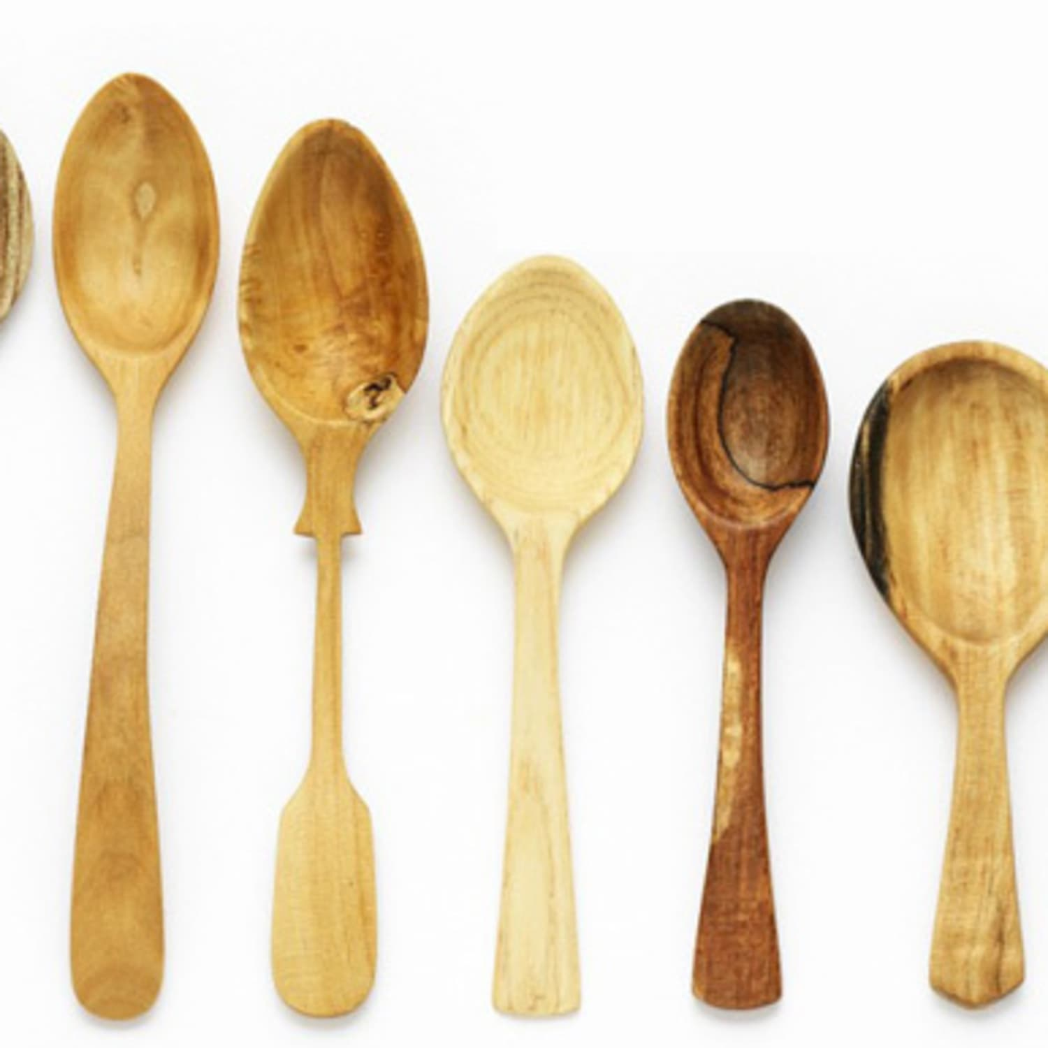 Gorgeous Hand Carved Wooden Spoons From Nic Webb Kitchn