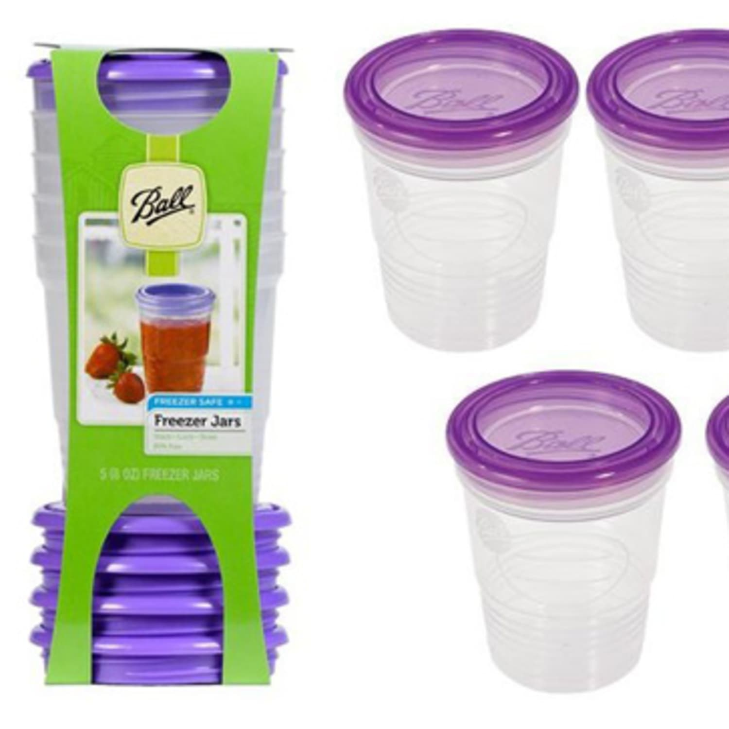 Easy Freezer Storage: Stackable Plastic Jars from Ball | Kitchn