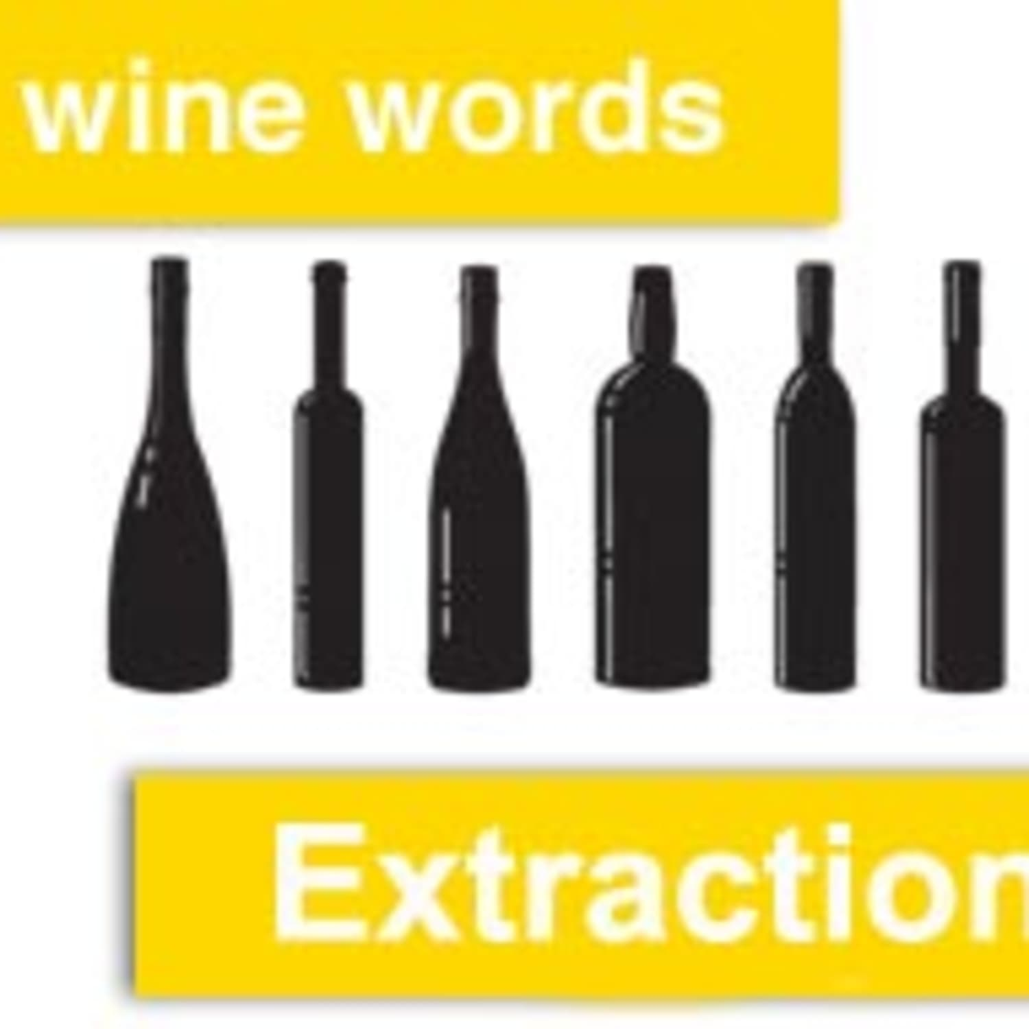 Wine Words: Extraction | Kitchn