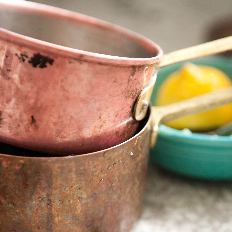 How to Clean Copper Pots Pans   Kitchn