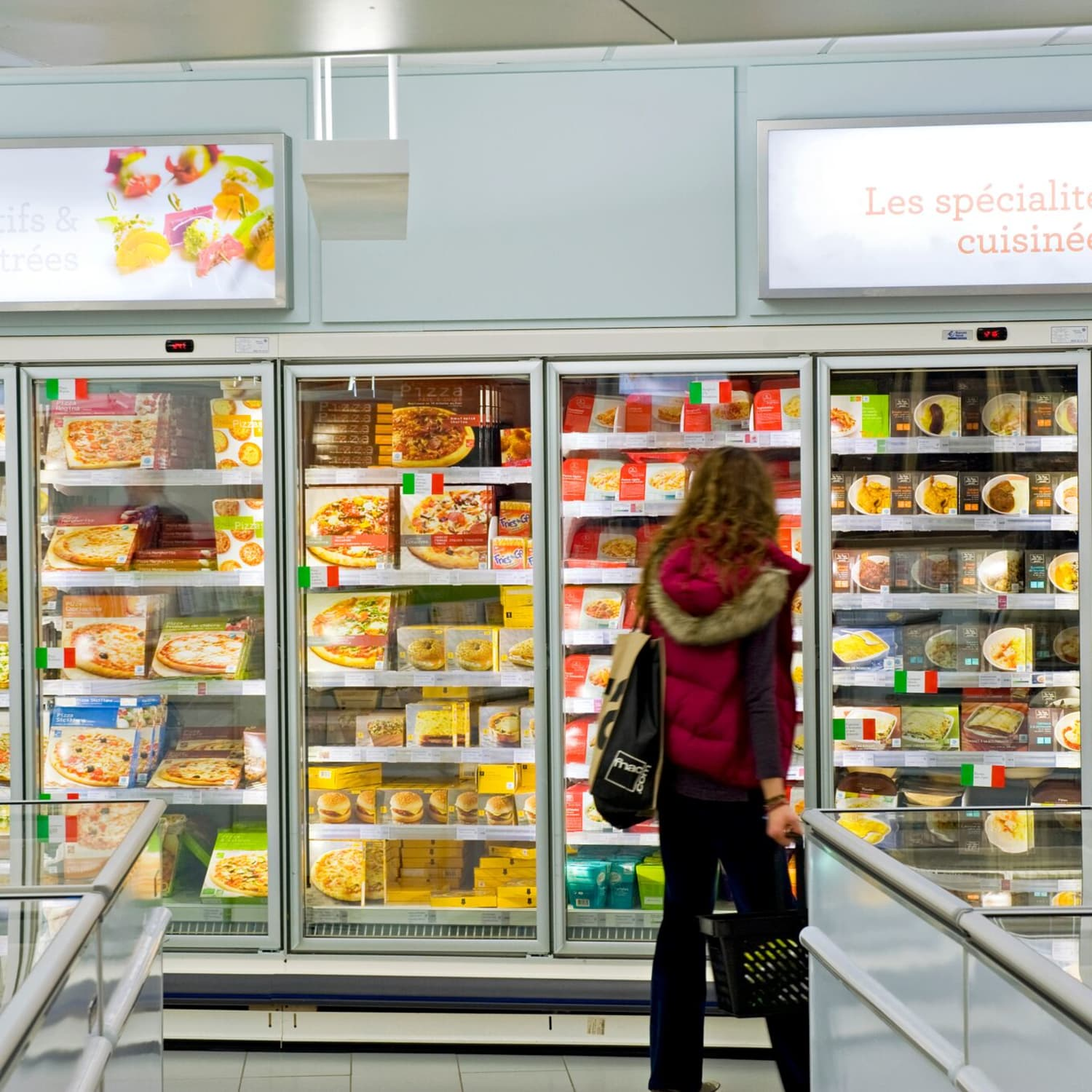 France's Favorite Grocery Store Only Sells Frozen Food