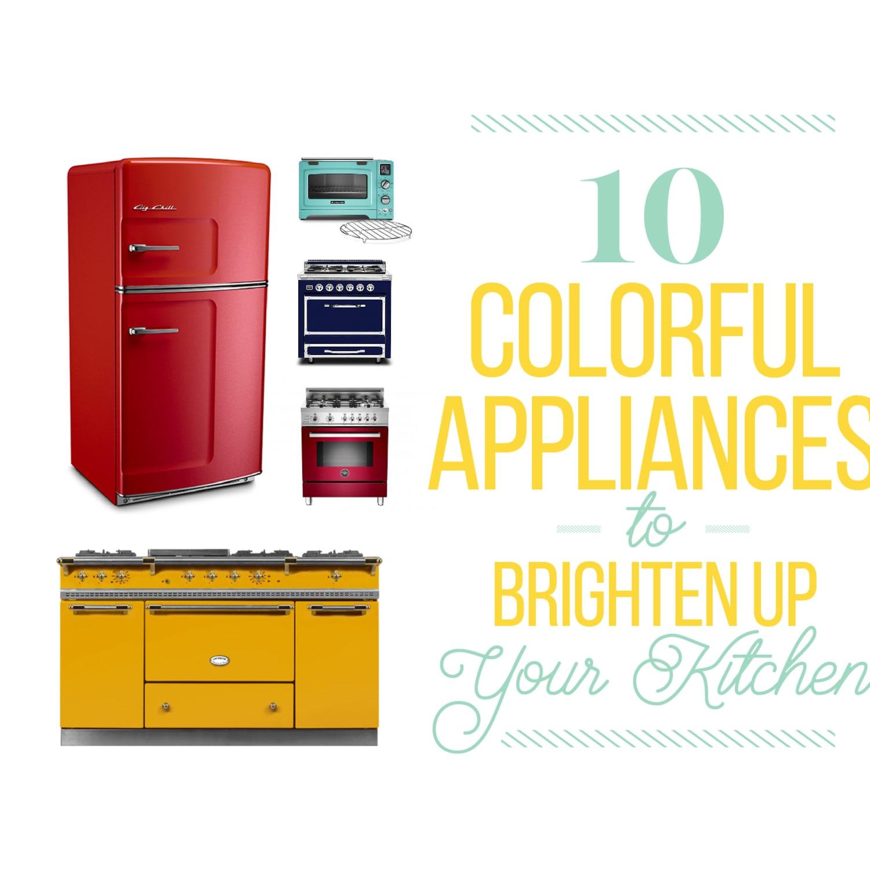 Beyond Smeg: 10 Colorful Appliances to Brighten Up Your Kitchen   Kitchn
