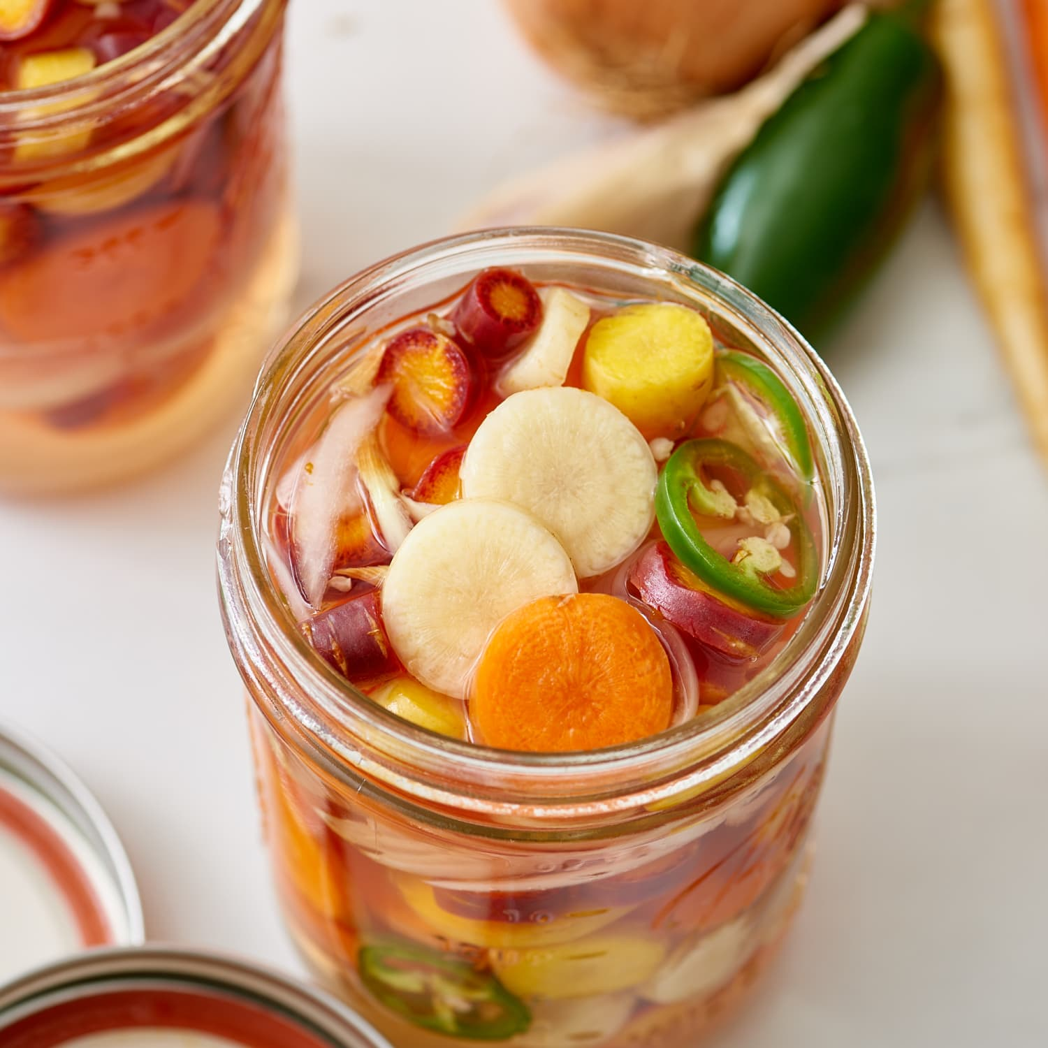 How To Make Pickled Carrots