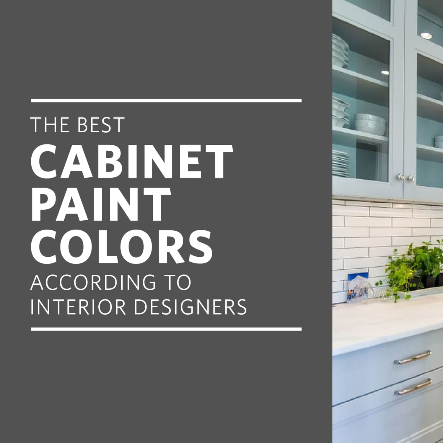 The Best Paint Colors for Kitchen Cabinets | Kitchn