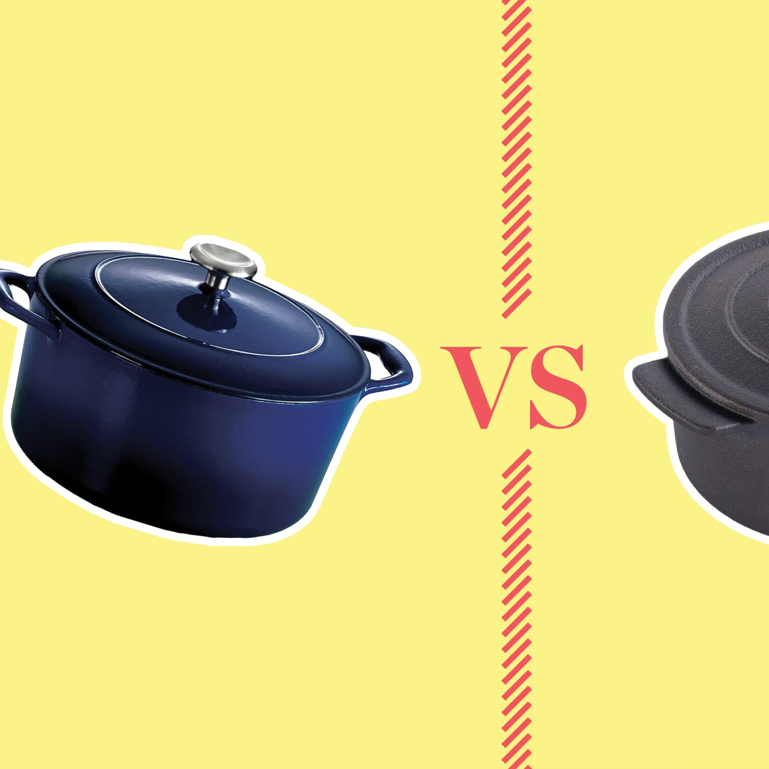 Cast Iron Versus Enameled Cast Iron Dutch Ovens | Kitchn