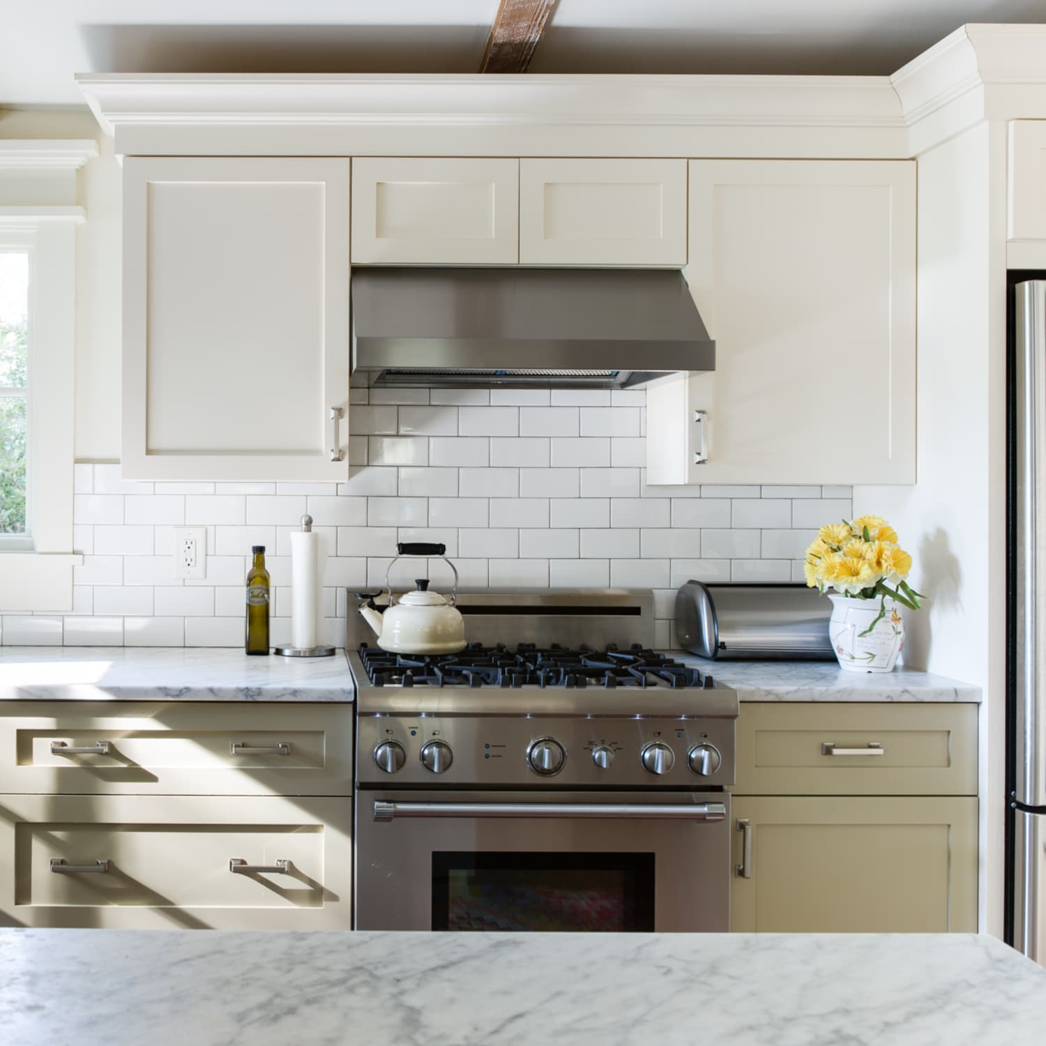 Kitchen Cabinet Painting Two Tone Ideas Kitchn